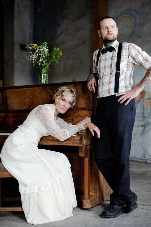 Finsterwalde Brautpaarshooting bei Squareville Studios