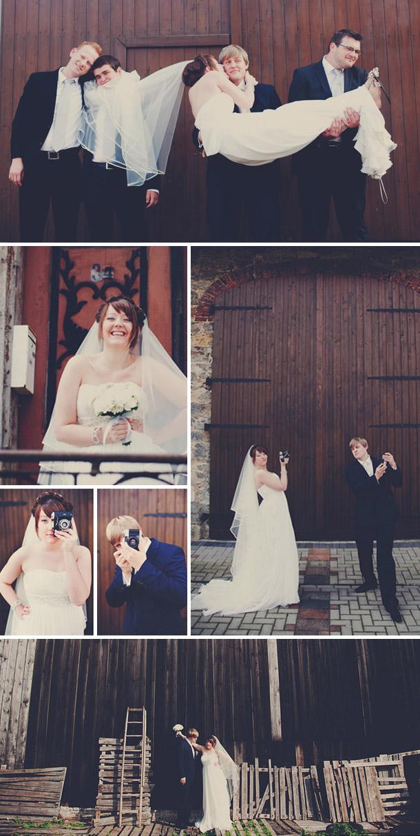 Modernes Chic mit vintage Elementen - Die Hochzeit von Stefanie und Artur