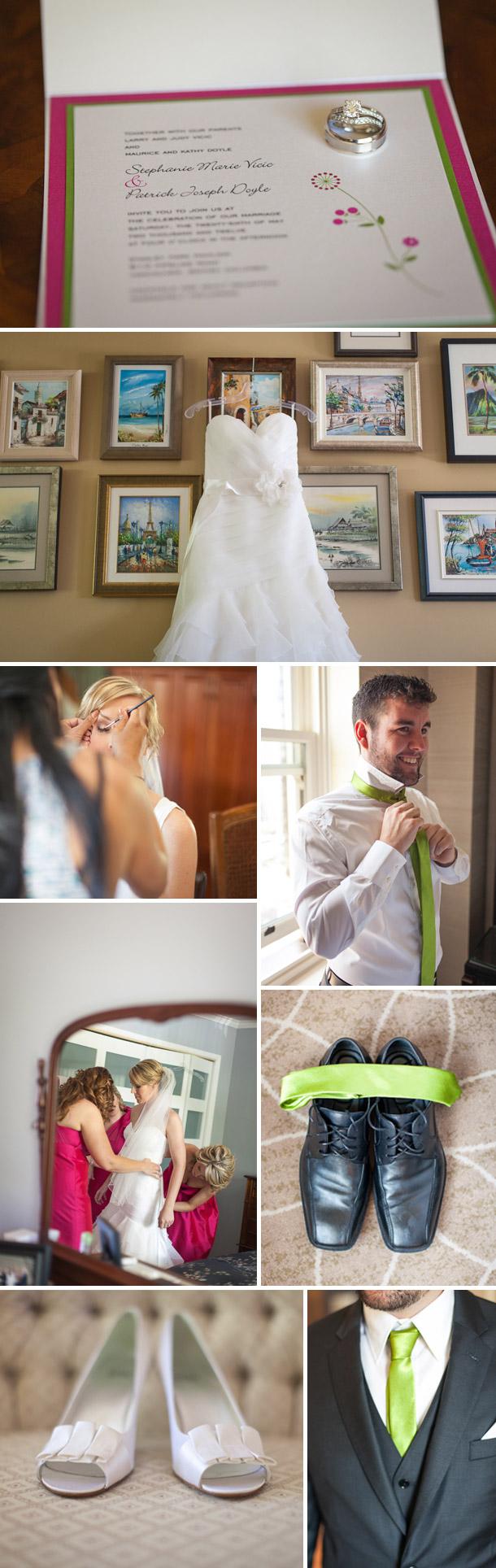 Stephanie und Patricks Hochzeit von Mikaela Ruth Photography