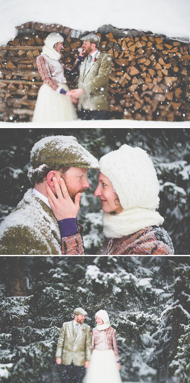 Schloss Interlaken Ski-Hochzeit von Stefan Hellberg