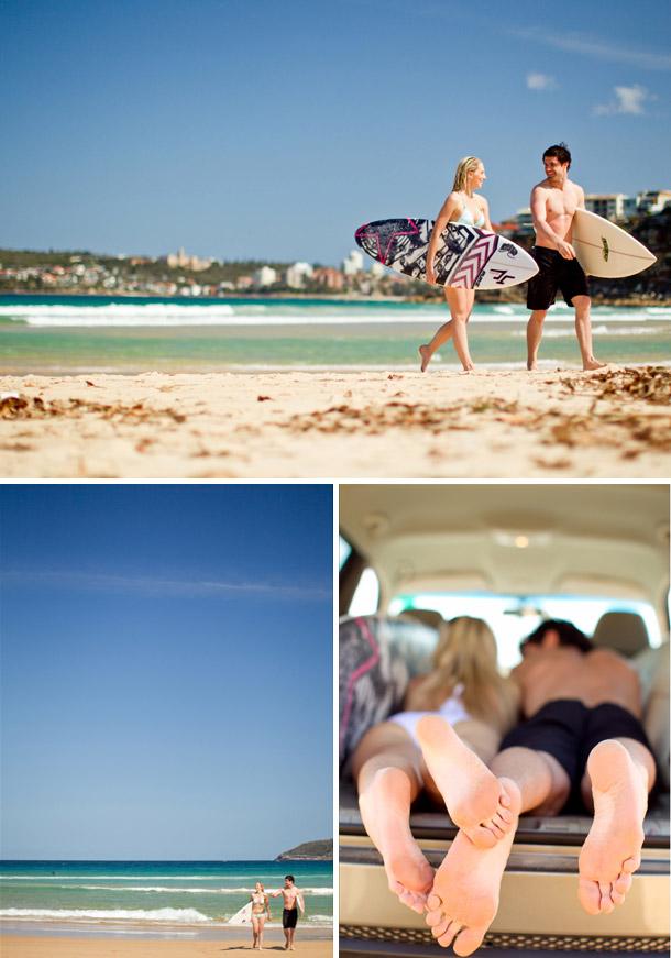Tara und Daves Verlobungsshooting in Sydney mit Mike Larson