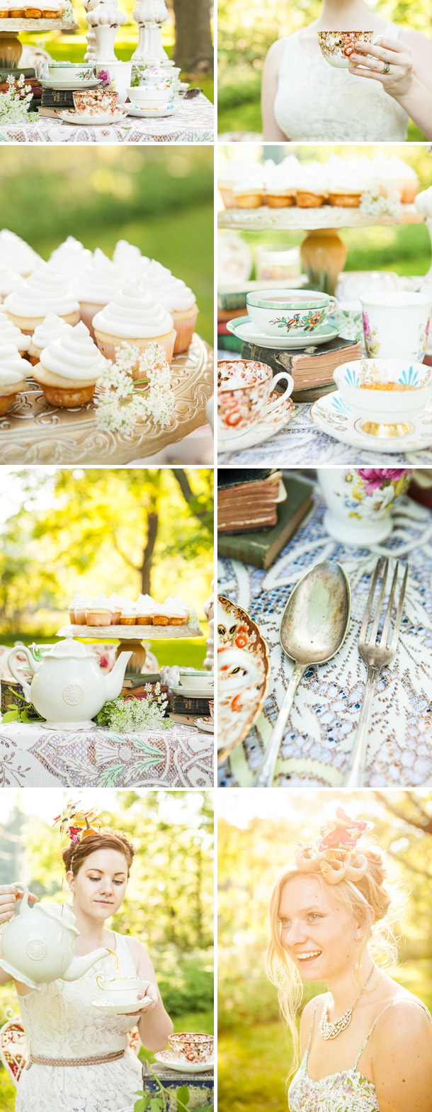 Eine vintage inspirierende Teeparty von Andrew Marks