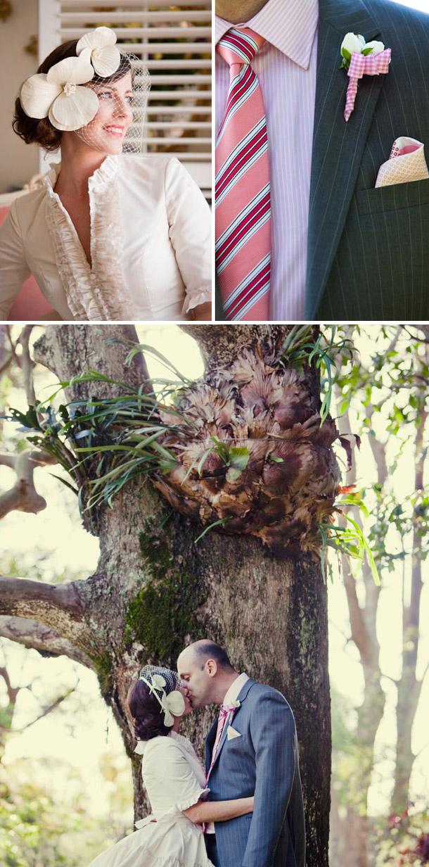 Tina und Tims Gartenhochzeit von CK Metro Photography Australien
