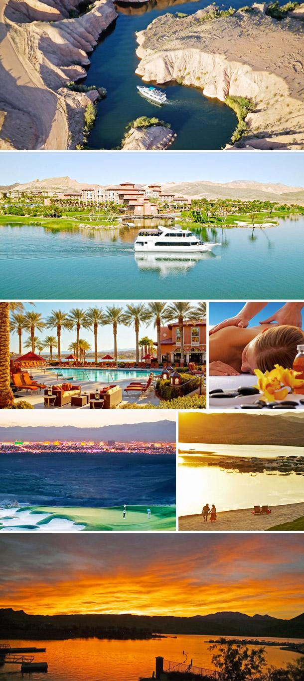Heiraten in Las Vegas mit Elvis - Flitterwochen in Loews Lake Las Vegas Resort