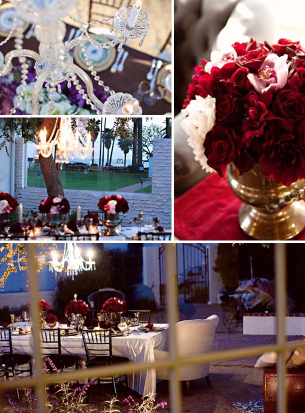 Vintage Hochzeitsdekorationen - Shooting von Troy und Aimee Grover