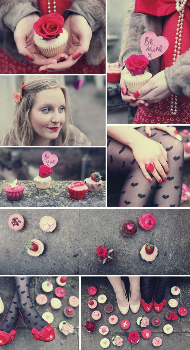 Valentinstag Motto Fotoshooting von Xanthe Berkely