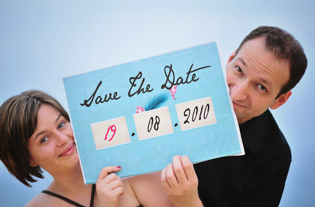 Patricia und Alexander Save the Date