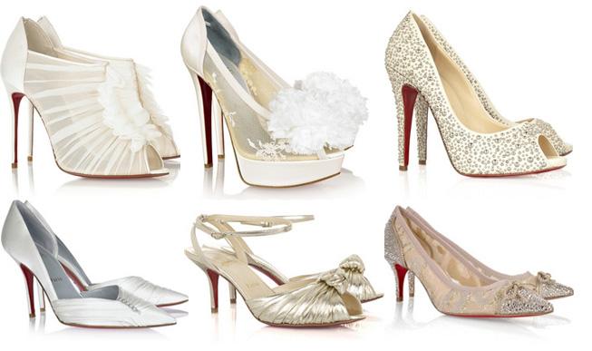 Louboutin Schuhe Weiß