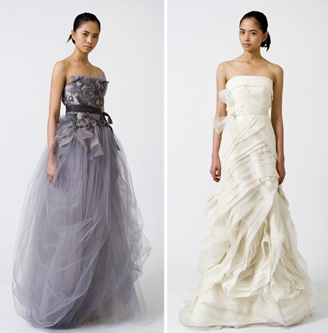 Vera Wang Hochzeitskollektion Fruehling 2011 - felicity und erica