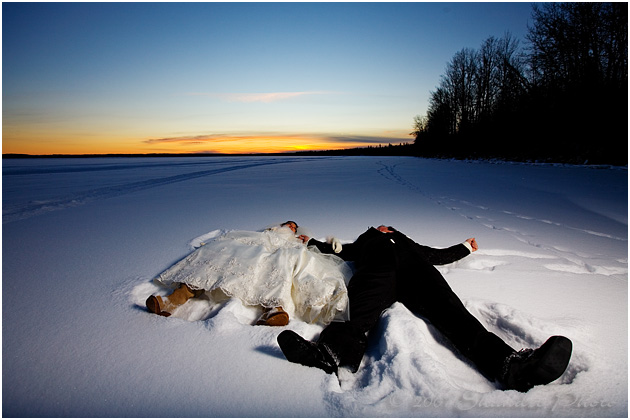 Winterhochzeit von SHANDRO PHOTO