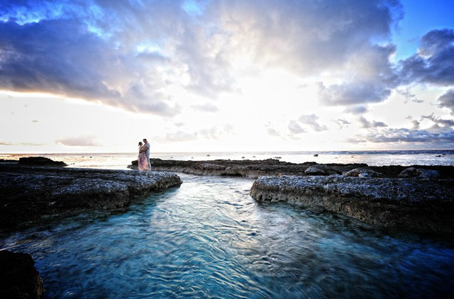 Schönes Wochenende - Vorschau auf eine polynesische Hochzeit