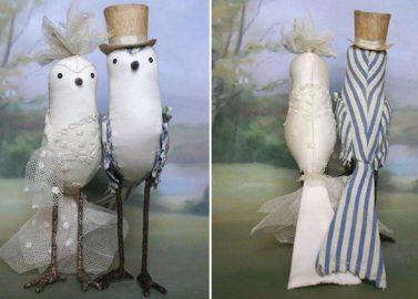 Entzückende, handgearbeitete Tortenfiguren