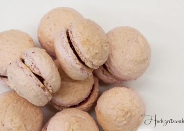 Macarons - Ein süßes Gastgeschenk für die Hochzeit