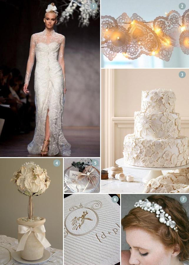 Winter Hochzeitsinspirationen in hellen Farben