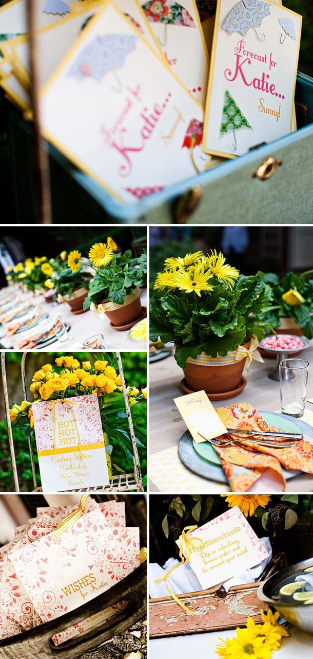 Ein Traum von Gelb - Dekorationsideen fotografiert von Laura Novak Photography