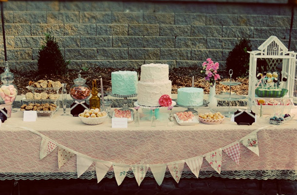 Vintage Kuchenbuffets Und Hochzeitstorten Inspirationen