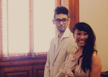 Kimi und Adam verheiratet