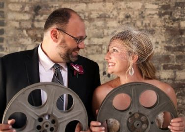 Hochzeit feiern wie aus dem Drehbuch