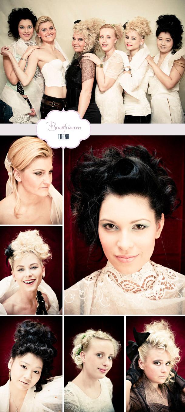 Trendige Brautfrisuren von colorwork photography