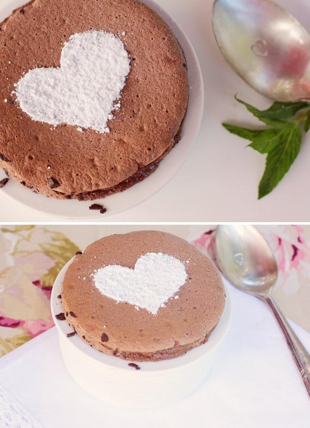 Liebe, Lust und Schokolade - Schokoladen Souffle von Hochzeitswahn