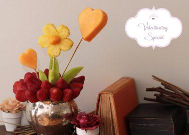 DIY: Fruchtiger Blumentopf