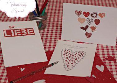 Valentinstag-Karten von Hochzeitswahn