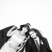 Hochzeit von Lindsay und Rob im Winter Wonderland