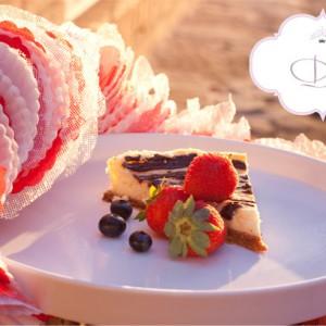 Cupcake Girlande für das Kuchenbuffet