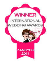 99 Best Wedding Sites – The Zankyou International Awards 2011