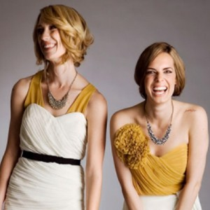 Tolle Kleider für Trauzeuginnen von Quail Bridal