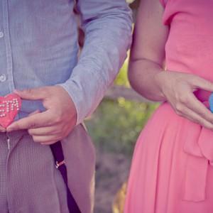 Peta und Pat's Verlobung im vintagestil