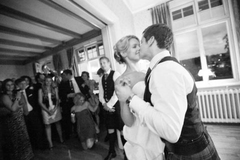 Schottische Hochzeitsgrüße aus Schweden