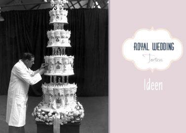 Königliche Tortenideen für William und Kate