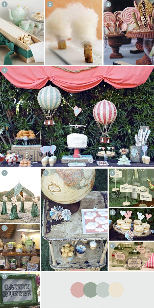 Bonbon Buffet - Etwas süßes zur Hochzeit bitte - Inspirationsboard