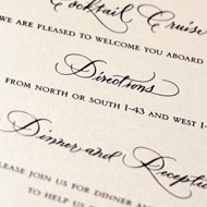 Einladungen und Papeterien
