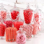 Candy und Süßwaren Buffet
