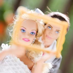 Barbie und Kens großer Tag fotografiert von Beatrice De Guigne