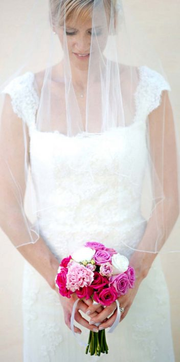 Rosafarbener Hochzeitstraum von Barbara Gandenheimer