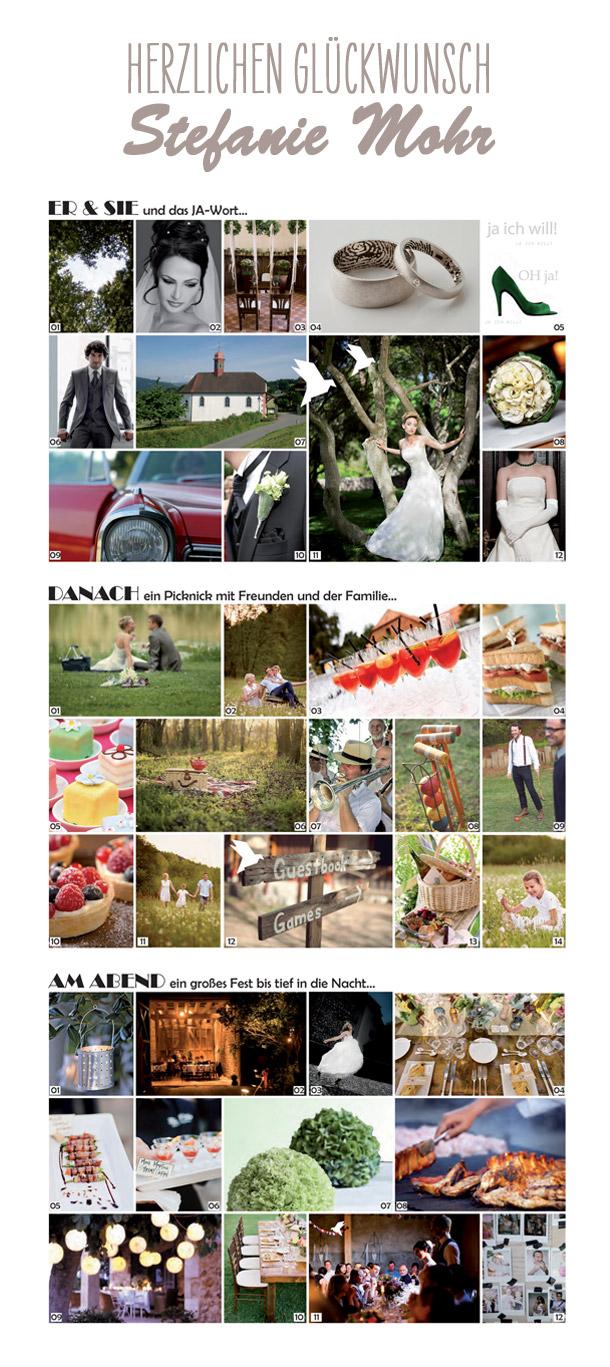Gewinner Stefanie Mohr des grossen Brautkleid Gewinnspiels von Hochzeitswahn und kuessdiebraut