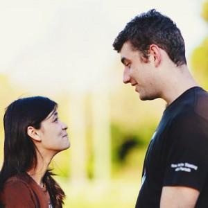 Bernadette und Adrian in Love