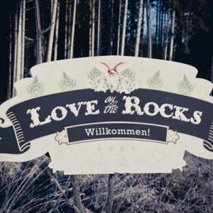 "Beatrice und Johanns Rock-Glam-Wintermärchen ""Love on the Rocks"""