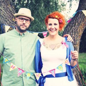 Vanessa und Svens ausgeflippte Hochzeit bei Schneiders Family Business