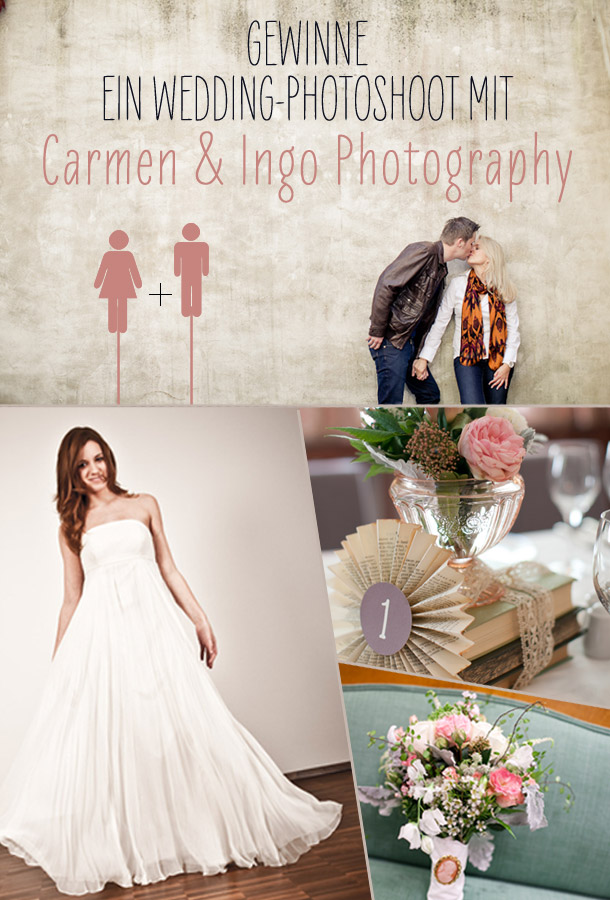 Gewinne ein Wedding-Photoshoot mit Carmen & Ingo Photography