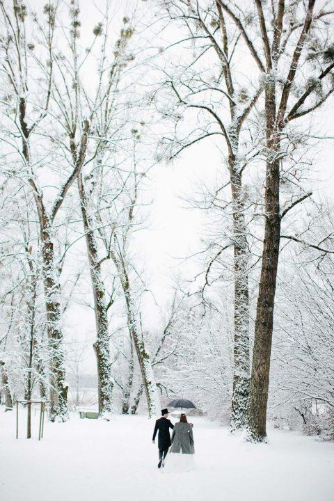 Wintertraumhochzeit bei Carmen und Ingo Photography