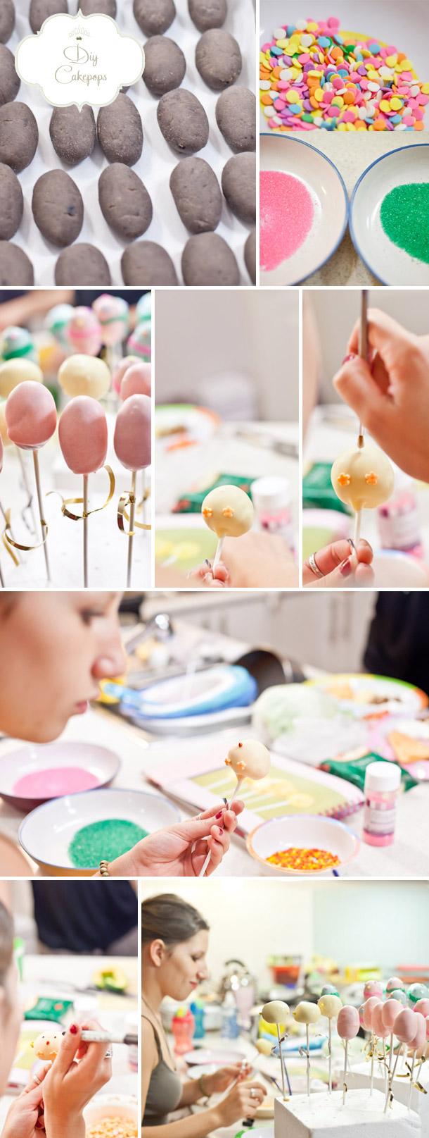 DIY-Cake Pops zu Ostern