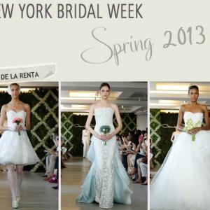 Hochzeitskleider-Picks für Frühjahr 2013