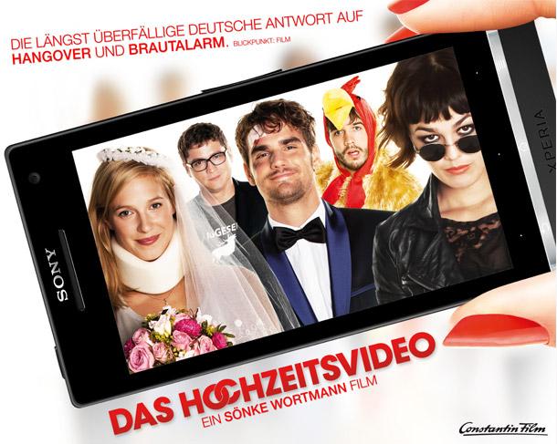 Das Hochzeitsvideo - das reinste Kinovergnügen und Gewinnspiel