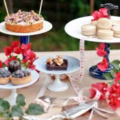 Kuchenbuffet Inspiration mit Anleitung zum Selbermachen