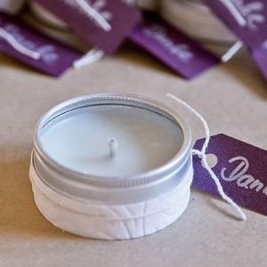 DIY-Duftkerzen für die Hochzeitsgäste