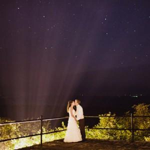 Romantische Burgruinen-Hochzeit von David Schreiner